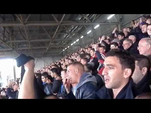 20 Times Man United chant Fulham - Manchester United away stand United fans singing. 2/11/2013