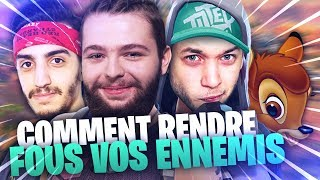 TUTO : COMMENT RENDRE FOUS VOS ENNEMIS ! ft MICKALOW, ADZ & WENDY