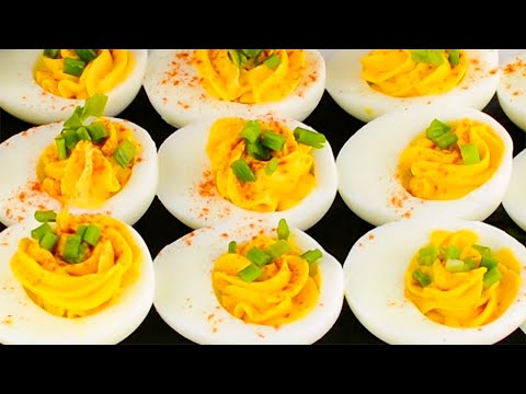 "Keto Deviled Eggs Recipe – Low Carb Creamy & Delicious Entree or Snack – ""Restaurant Quality"" (Easy)"