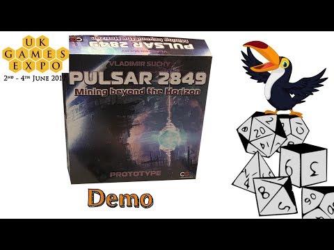 Pulsar 2849 Demo at UKGE 2017