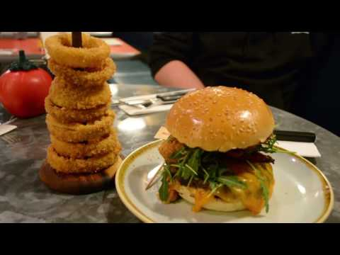 Nathan Goes To GBK Aylesbury To Try Out The Burgers!