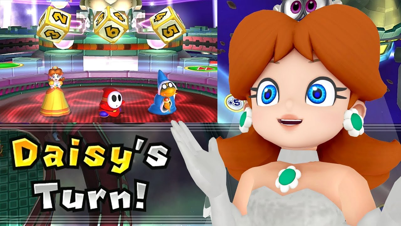 Mario Party 9 Solo Mode Daisy Bowser Station Part 6 358 Youtube