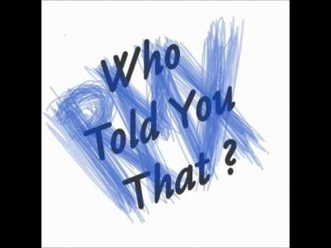 Jacek Sienkiewicz - Who Told You That ? (Recognition Remix)