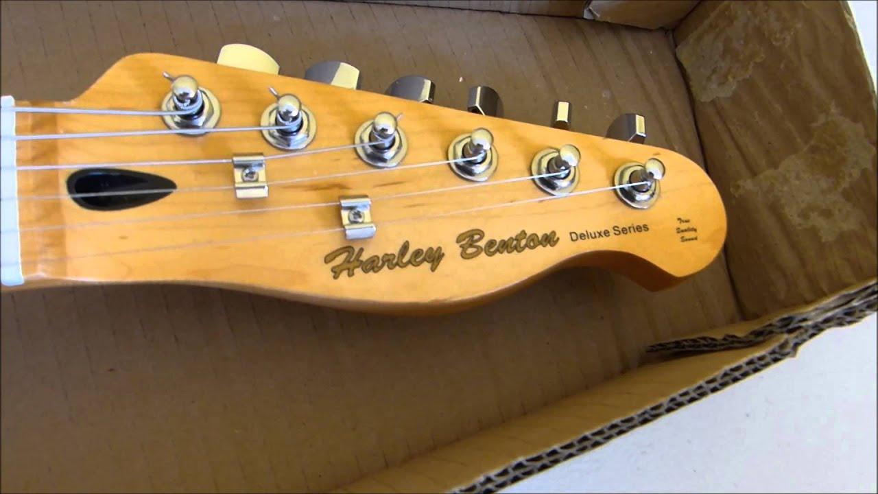 Harley Benton TE-80 NT Deluxe Series Unbox/1st Impressions