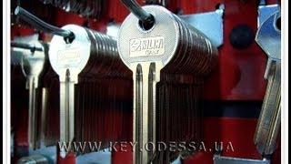 видео Изготовление ключей любой сложности