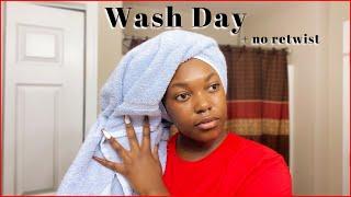 UPDATED: Wash Day + No Retwist | Naomi Onlae