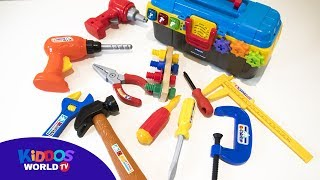 Hand tools for kids - toy handy tools - learn hand tools