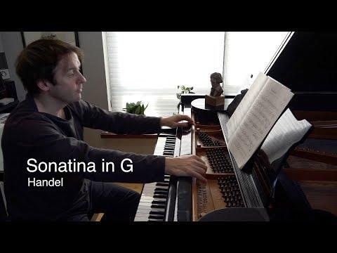ABRSM Prep with Simon Mulligan: Handel - Sonatina in G. Grade 3, List A