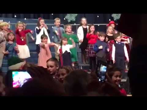 New Franklin School holiday concert 1