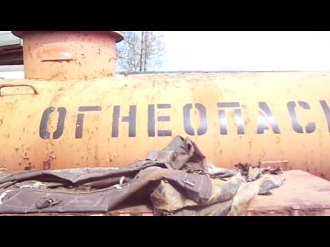 Топливовоз на шасси Газ-5201, 1990 г. в. (обзорное видео)