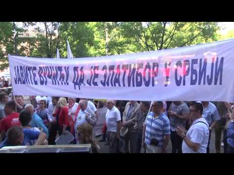 Serb Protesters Demand Construction Of Zlatibor Cable Car Project