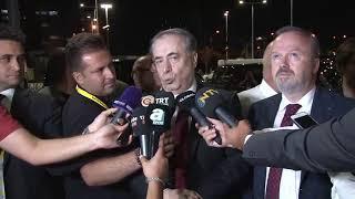 #CANLIYAYIN - Galatasaray Başkanı Mustafa Cengiz açıklama yapıyor