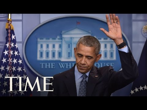 President Obama Defends Commuting Chelsea Manning's Sentence In Final Press Conference | TIME