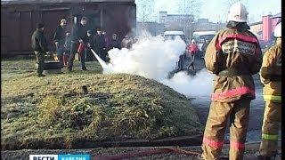 Сотрудники карельских предприятий освоили пожарно-технический минимум