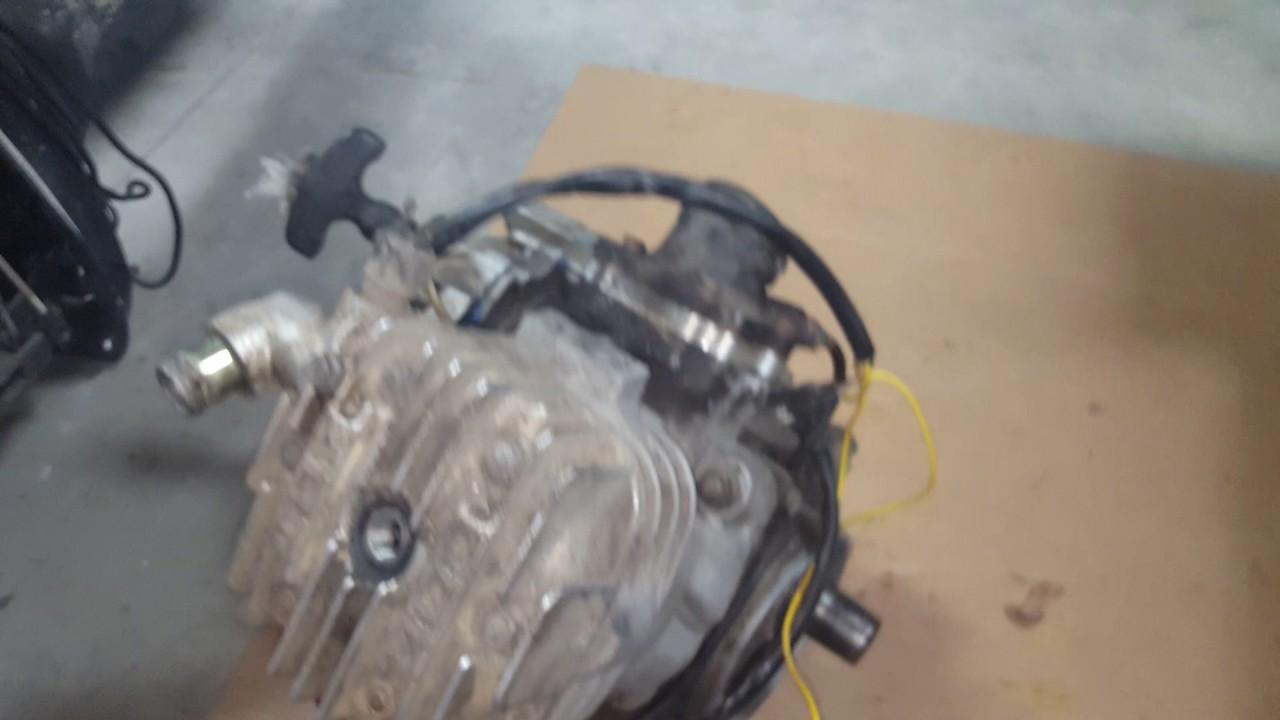 Polaris Scrambler 400 Engine Seizure Aftermath