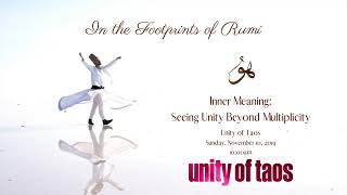 Inner Meaning: Seeing Unity Beyond Multiplicity - November 10, 2019 at Taos Unity