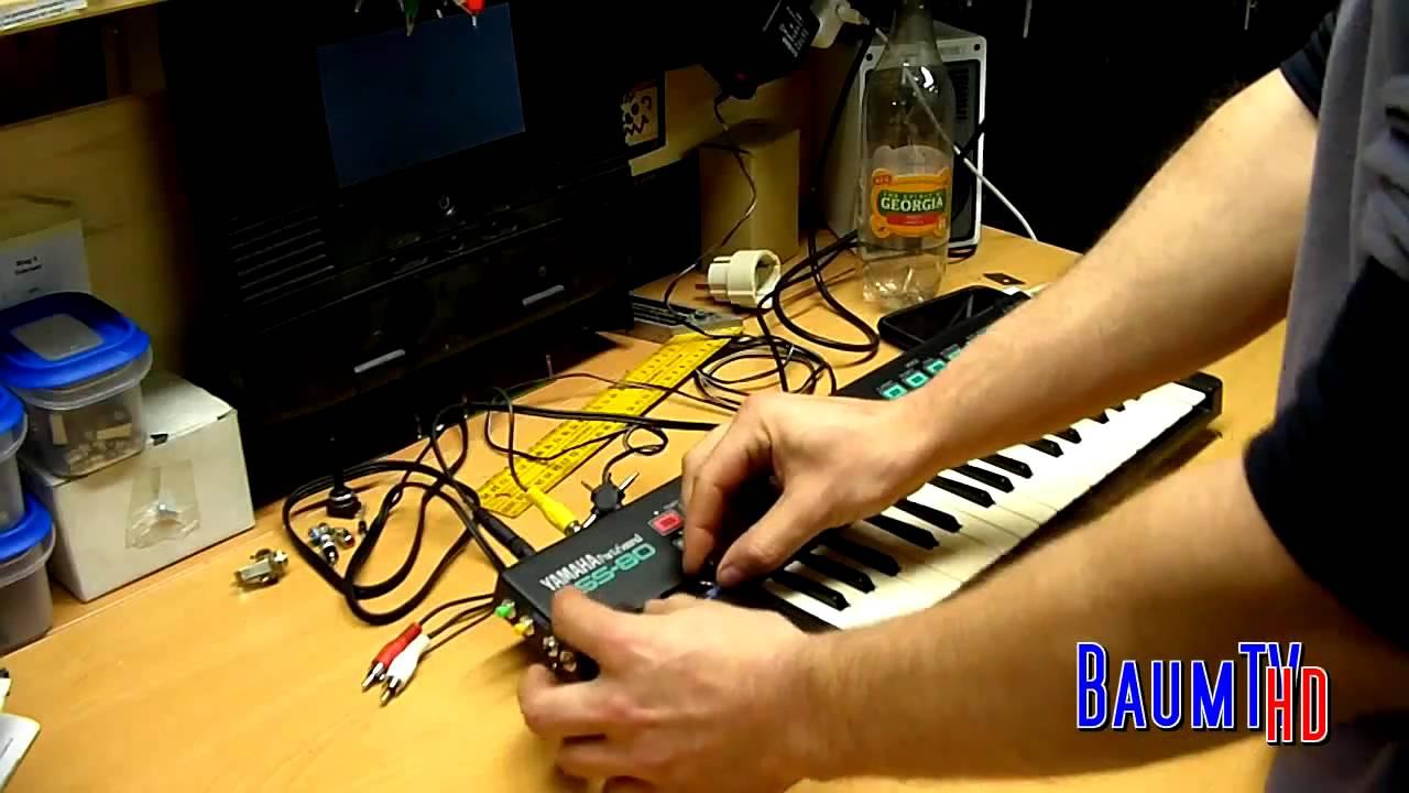 how to circuit bent a yamaha portasound pss 80 with 10 mods by baum rh youtube com Yamaha XS1100 Wiring-Diagram Yamaha Golf Cart Wiring Diagram
