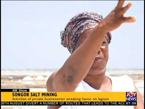 Songor Salt Mining - AM Business on JoyNews (22-8-18)