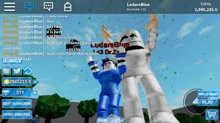 Getting the Personal Dancer Game Pass auf Giant Dance Off | Roblox