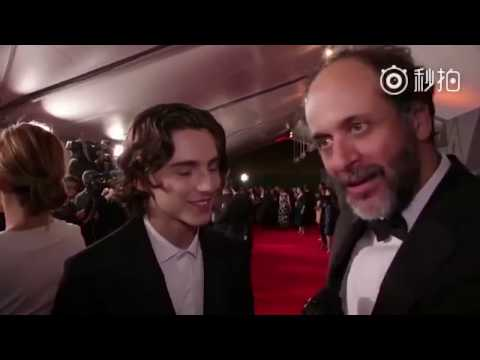 Timothée Chalamet speaks French!! Armie Hammer Call me by your name Premiere by Cine+ and Canal+ streaming vf