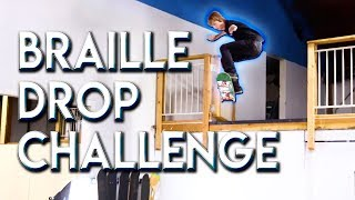 INSANE DROP SKATER VS THE BRAILLEDROP