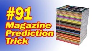 Magazine Prediction Trick - Easy Mentalism To Amaze Your Friends