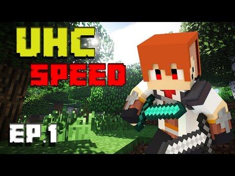[Minecraft : Speed UHC] EP.1 หลังเว้ยยย w/NuTTo GaMeR