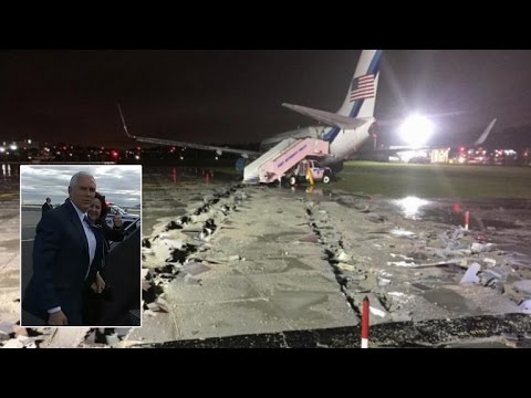 How This Unique Invention Saved Mike Pence After Plane Skidded On Runway
