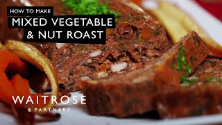 Mixed Vegetable And Nut Roast Loaf | Waitrose