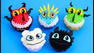 5 Adorable DRAGON CUPCAKES | Cupcake Decorating Ideas by Cakes StepbyStep