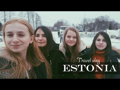 Estonia. Travel Vlog. Part 1. Eng Subs. Autobuzul magic.