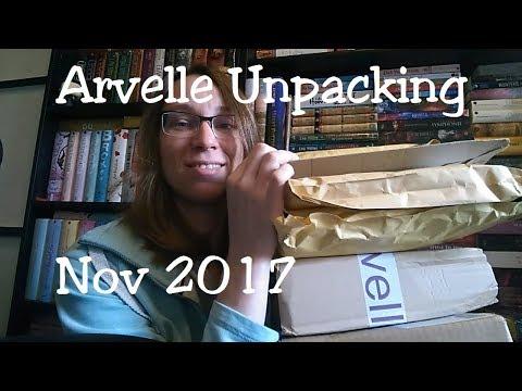 Arvelle Unpacking Nov 2017 + Bonus Unpacking...