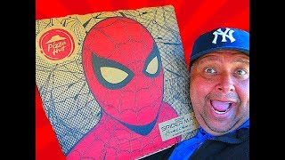 Pizza Hut® 'SPIDER-MAN: HOMECOMING' Cheesy Bites Pizza Review!