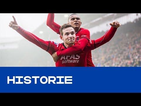 HISTORIE | Hattrick Janssen velt Feyenoord