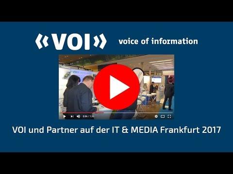 VOI auf der IT & MEDIA Frankfurt 2017