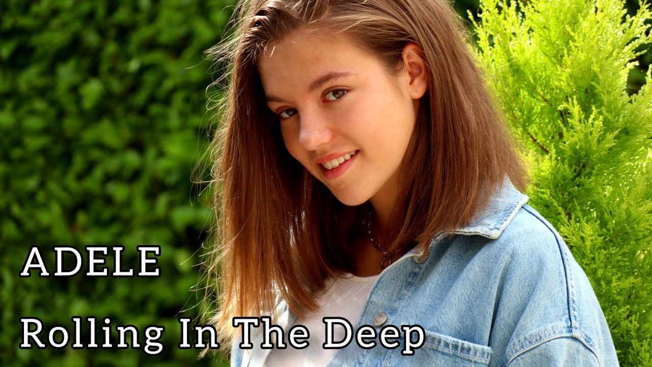 ADELE - ROLLING IN THE DEEP | Allie Sherlock Cover