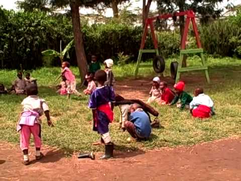 KCC Slum School  Children Playing