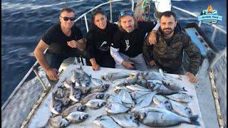 Çupra'nın İçine Düştük!! Akbük'de Balık Coştu!! - 02 Aralık 2019