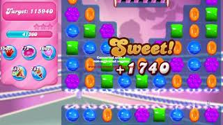 Candy Crush Saga Level 1409 NO BOOSTERS no timed level