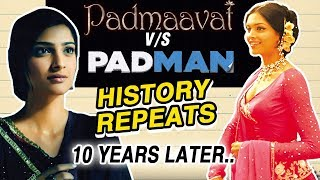Deepika Padukone VS Sonam Kapoor CLASH After 10 Years | Padmaavat vs Padman | 25 Jan 2018