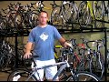 How to Buy a Bicycle : Learn About Hybrid Bicycles