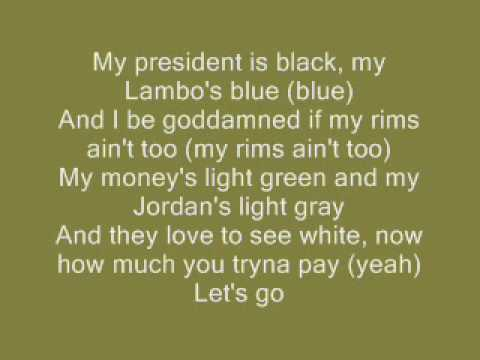 Young Jeezy Feat Nas  My President is Black lyrics