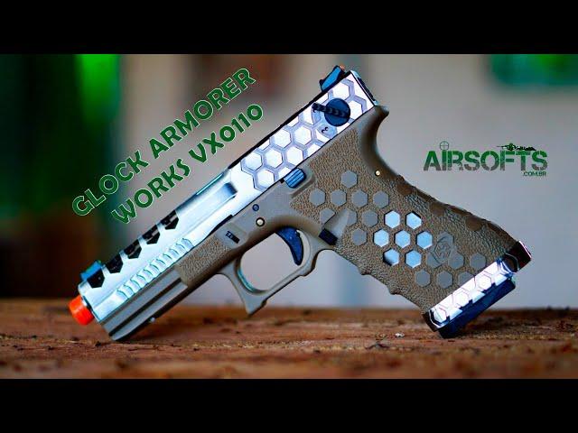PISTOLA GLOCK G18 | ARMORER WORKS VX0110 - A melhor Glock Airsoft?