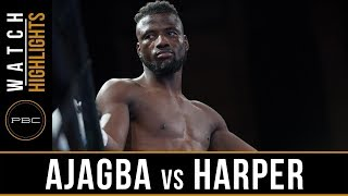 Ajagba vs Harper Highlights: PBC on FS1 - August 24, 2018