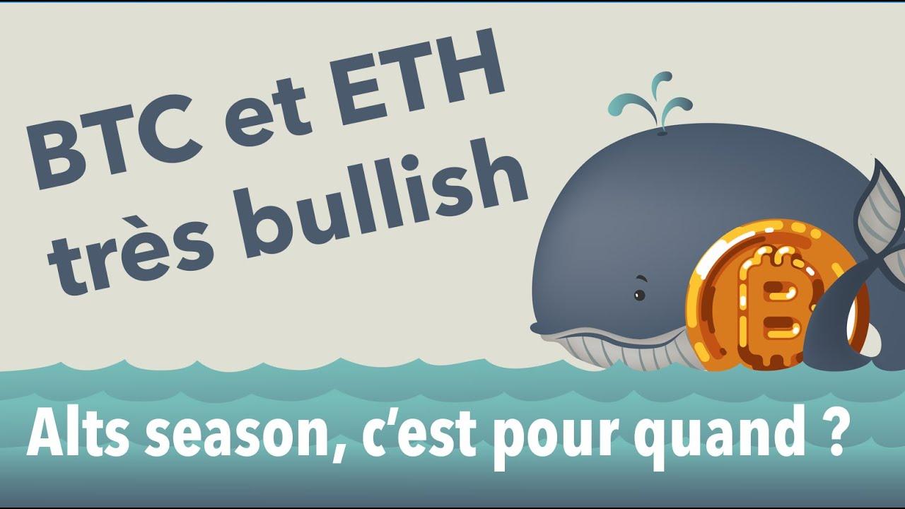 [ANALYSE CRYPTO] Bitcoin & Altcoins :  Bitcoin à 10 000 € ! Ethereum Très Sexy !