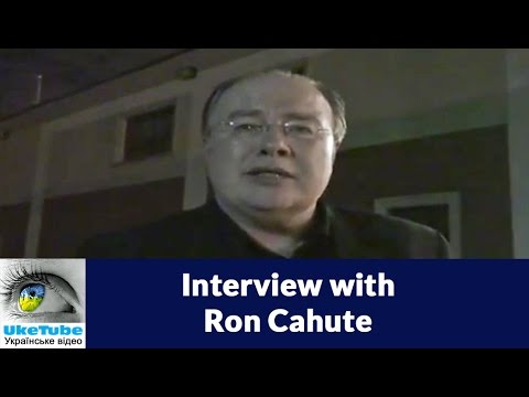 Interview with Ron Cahute 1/2