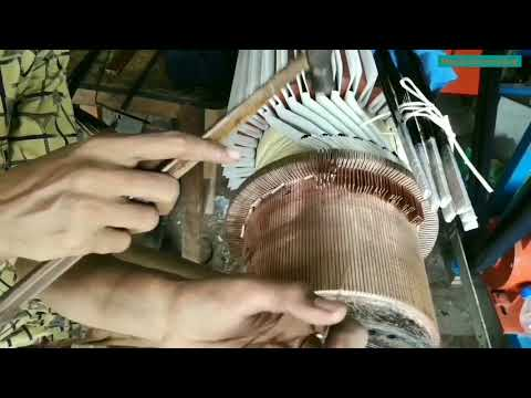 100 KW DC Motor Armature Rewinding, From Majeda Electric & Engineering.