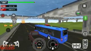 Coach Bus Driving Simulator 2020 City Bus Free   Android GamePlay   Top Galaxy Game screenshot 1