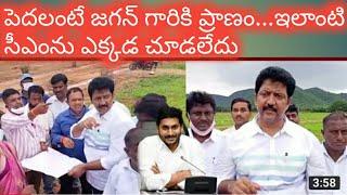 MLA Vallabhaneni Vamshi Inspects Ysr Housing Site in Gannavaram In AP   Cinema Politics