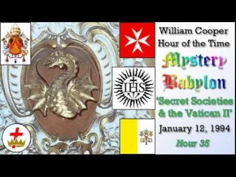 William Cooper - Mystery Babylon #35: Secret Societies & Vatican II Full Length